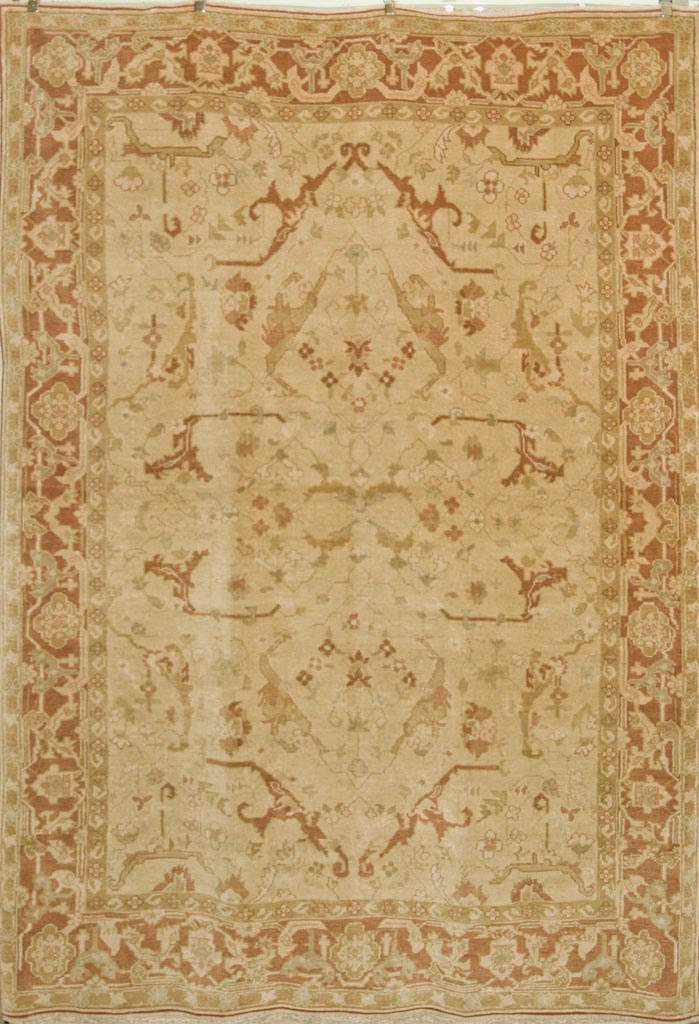 Finest Angora Usak Rug rugs and more oriental carpet 35853-