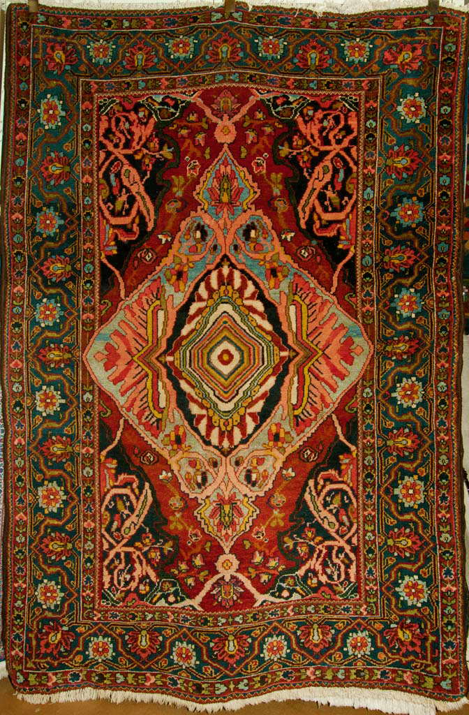Antique Bakhtiari Rug santa barbara design center rugs and more oriental carpet