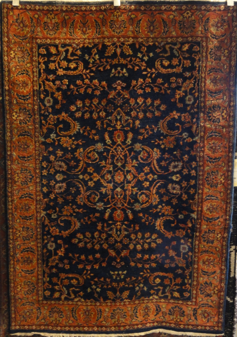 Fine Indo Sarouk Rug santa barbara design center rugs and more oriental carpet