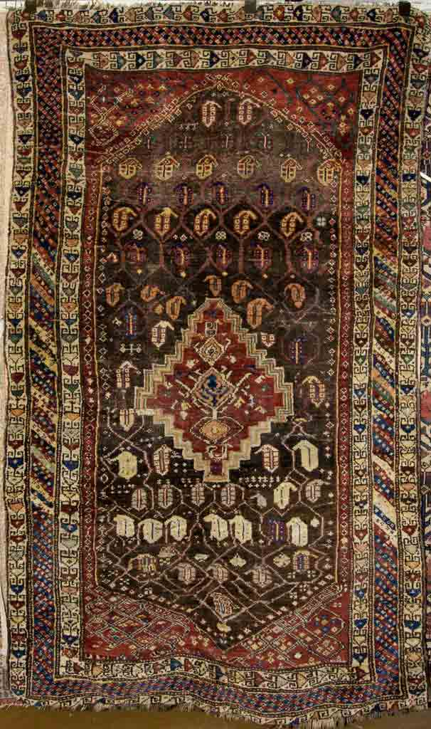 antique kurdish rug santa barbara design center