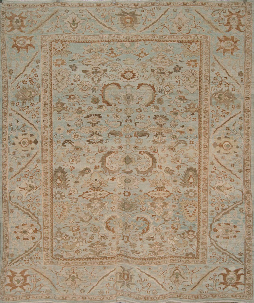"Original Persian Sultanabad woven with the highest quality materials. best in the world. 10'9"" x 9'4"""