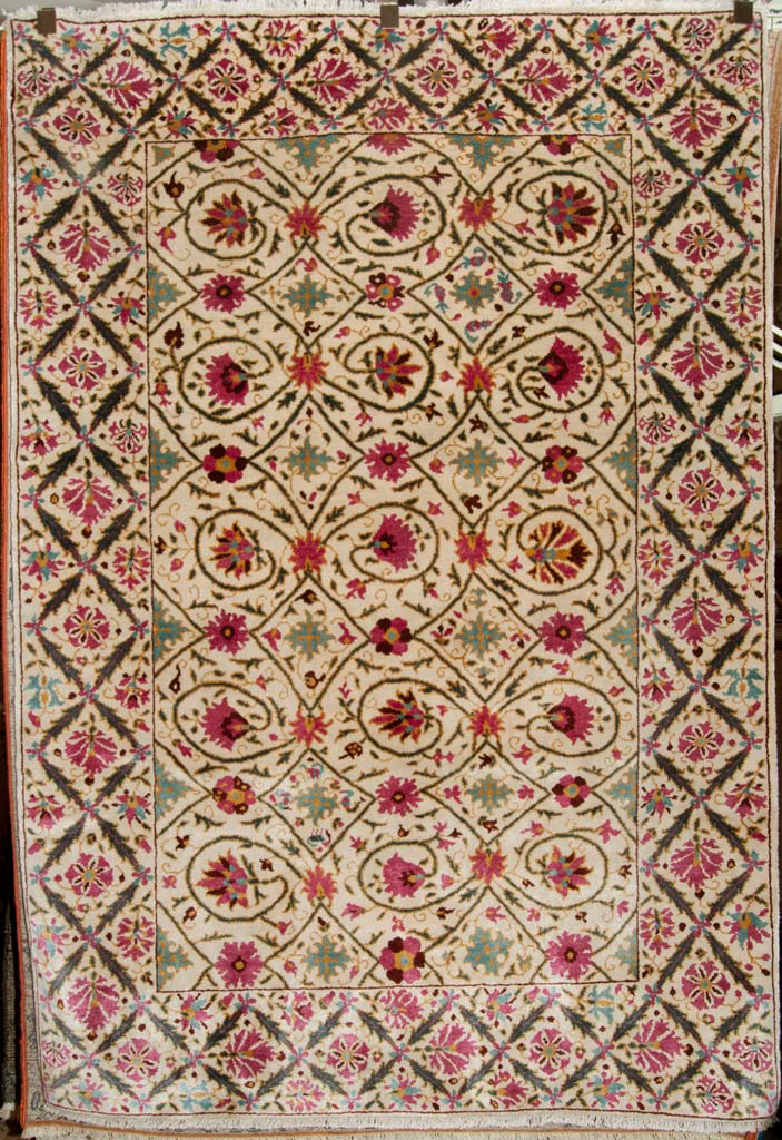 Finest Silk Suzani Rug santa barbara design center oriental carpet 1