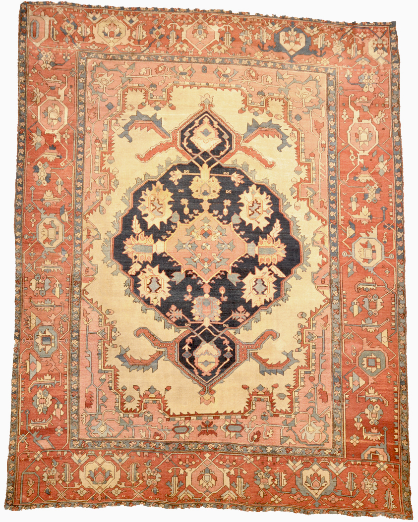 Rare Antique Serapi Rug Rugs More