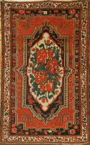 Antique Bakhtiari Flower Rug santa barbara design center rugs and more oriental carpet