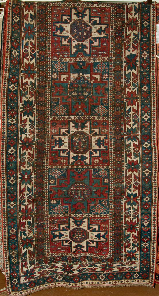 Antique Lesghi Stars Rug santa barbara design center rugs and more oriental carpet