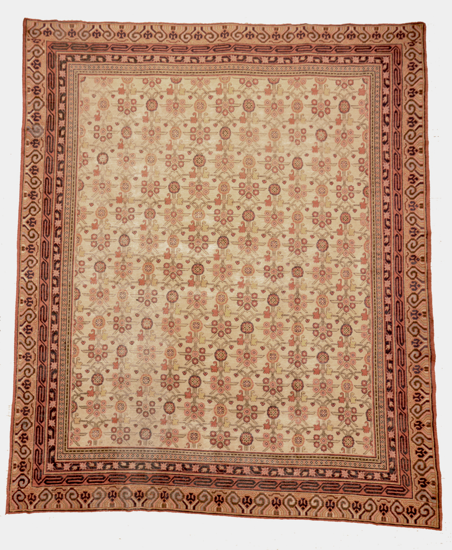Antique khotan rug santa barbara design center 1