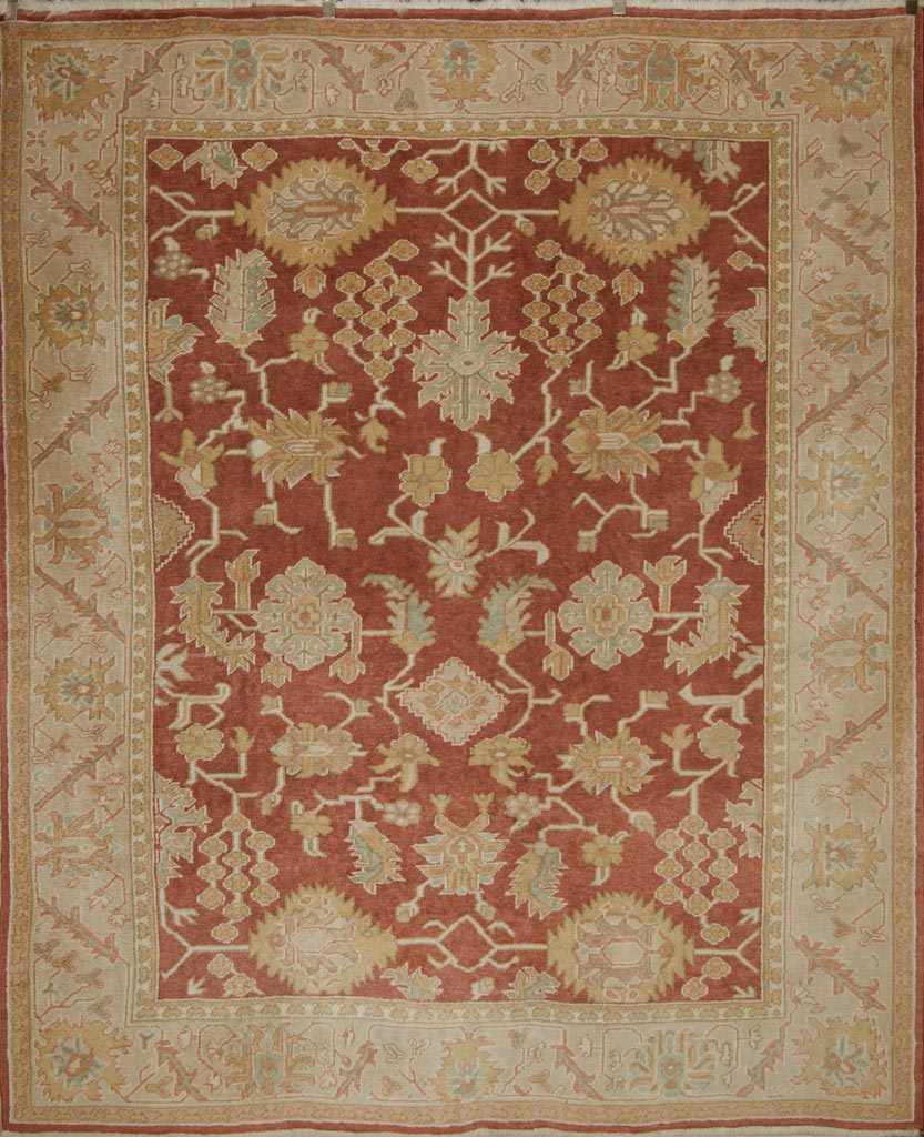 Fine Oushak Rug rugs and more oriental carpet 35678-