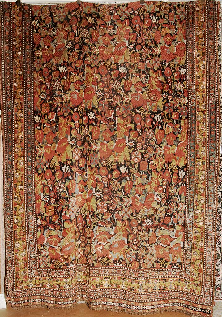 Rare Antique Khamseh Rug rugs and more oriental carpet 35095-