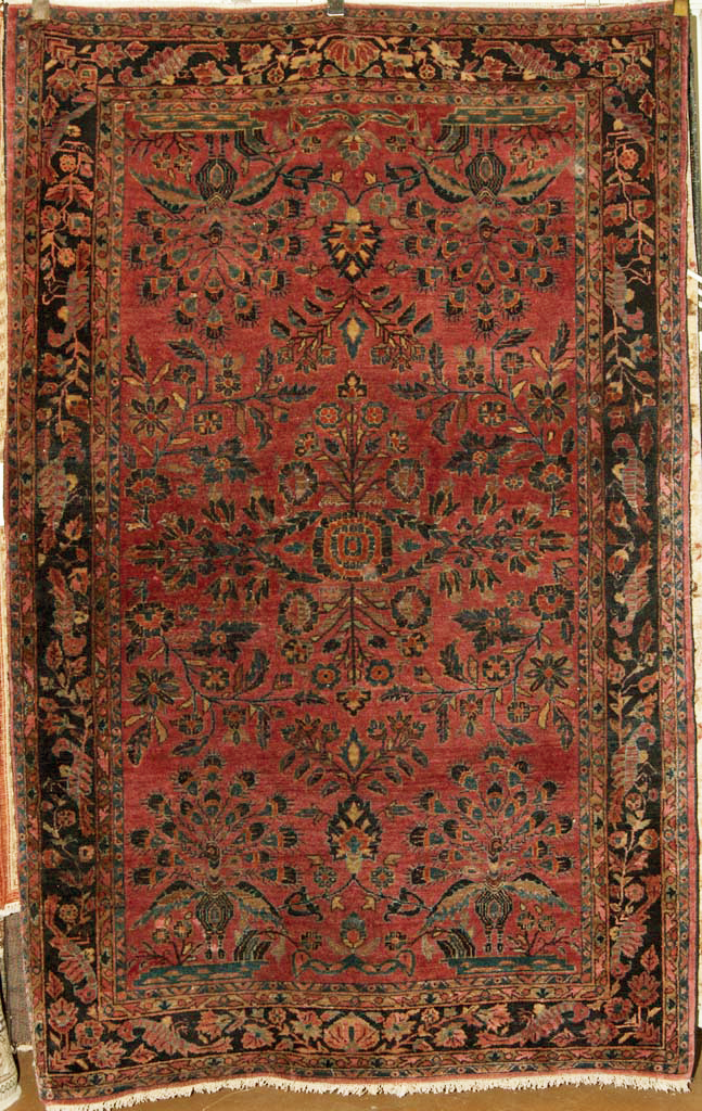 Antique Fine Sarouk Rug santa barbara design center rugs and more oriental carpet