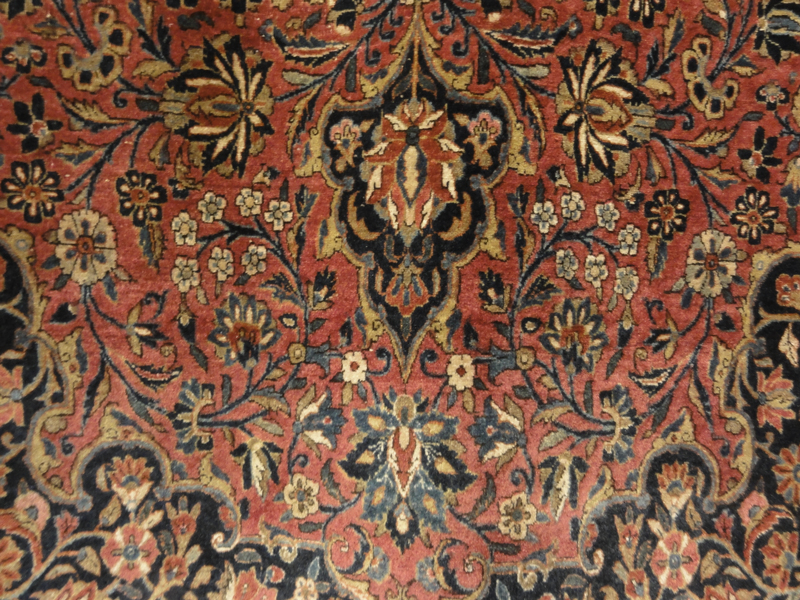Antique Manchester Kashan Rug Rugs More