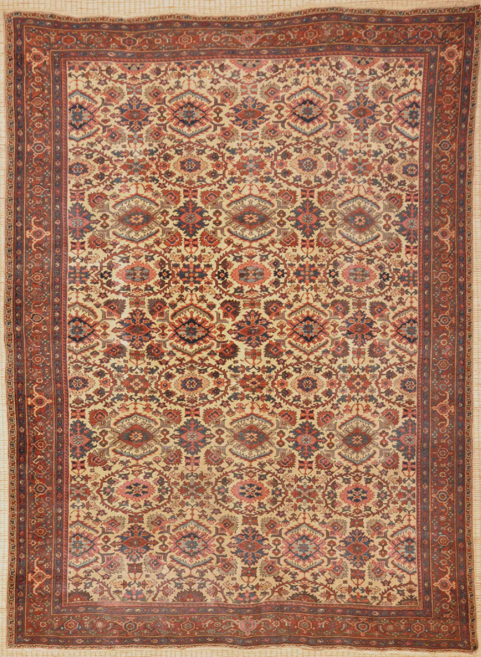 Antique Ziegler Sultanabad Rug Santa Barbara Design Center