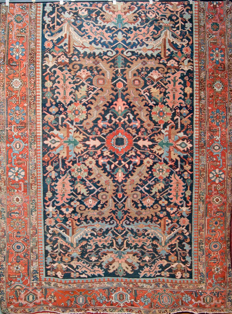 Antique Dragon Heriz Rug Rugs More