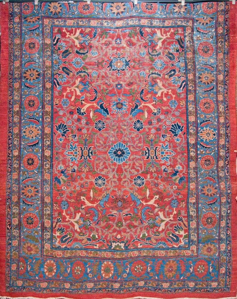 Antique Lilihan Persian Rug