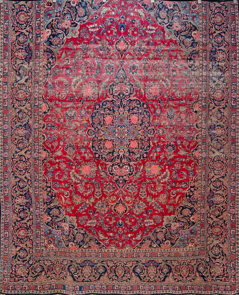 Antique Kashan Rug Rugs More