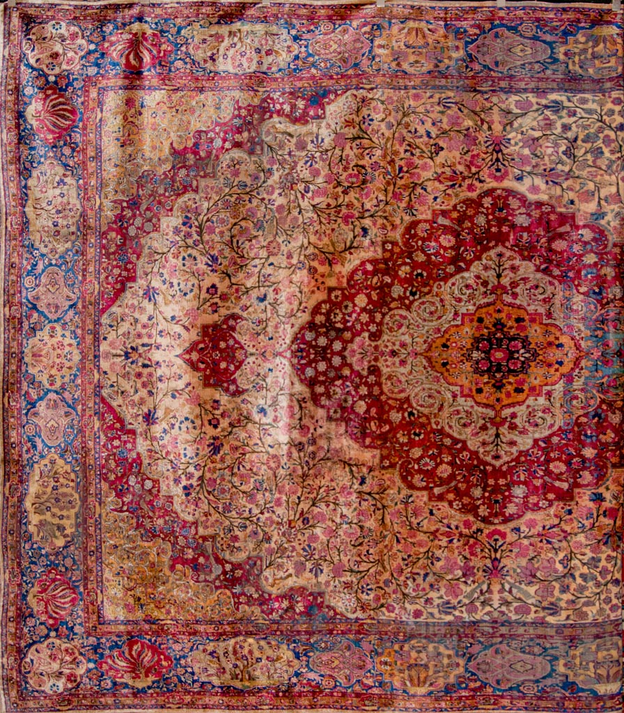 Antique Silk Kashan Rug Rugs More