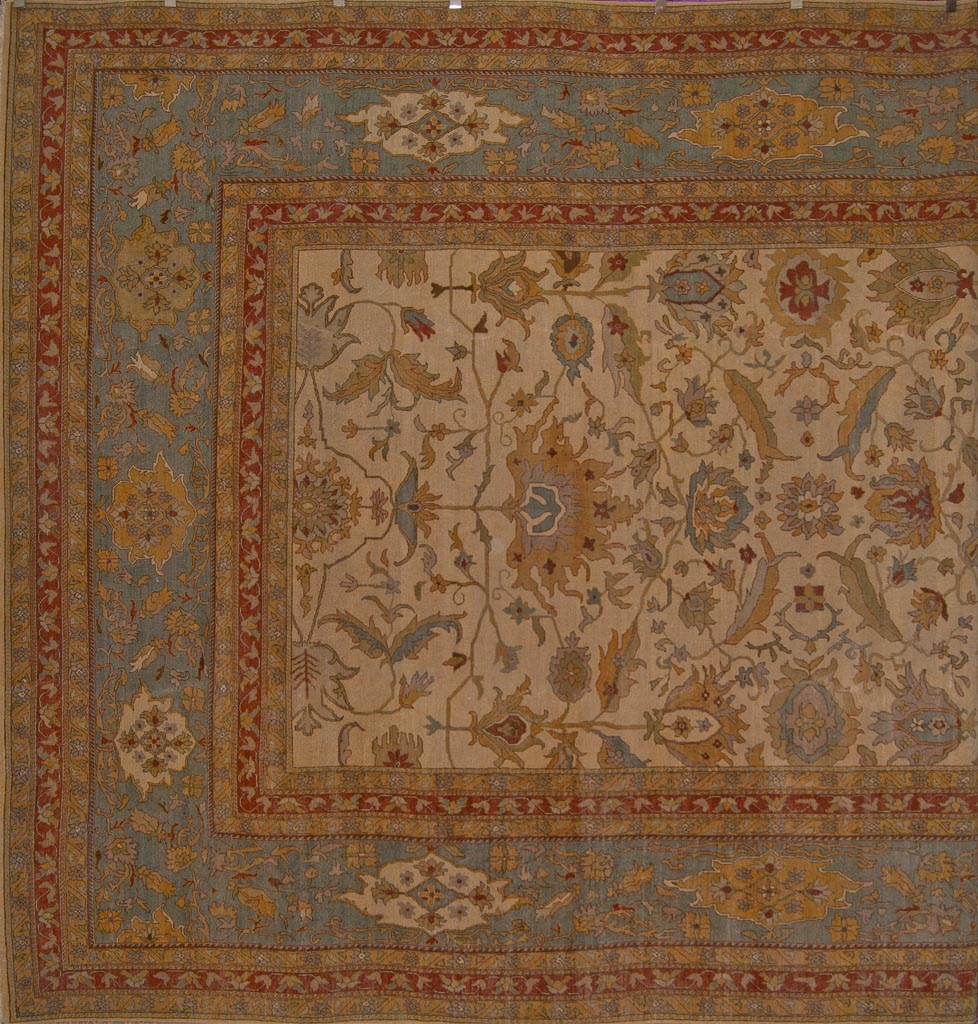 Antiqued Fine Kerman Rug