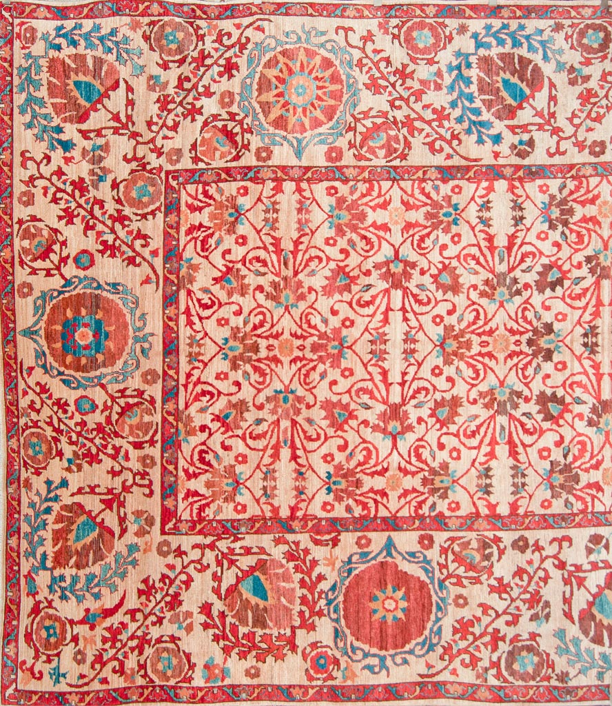 Fine All Over Suzani Rug