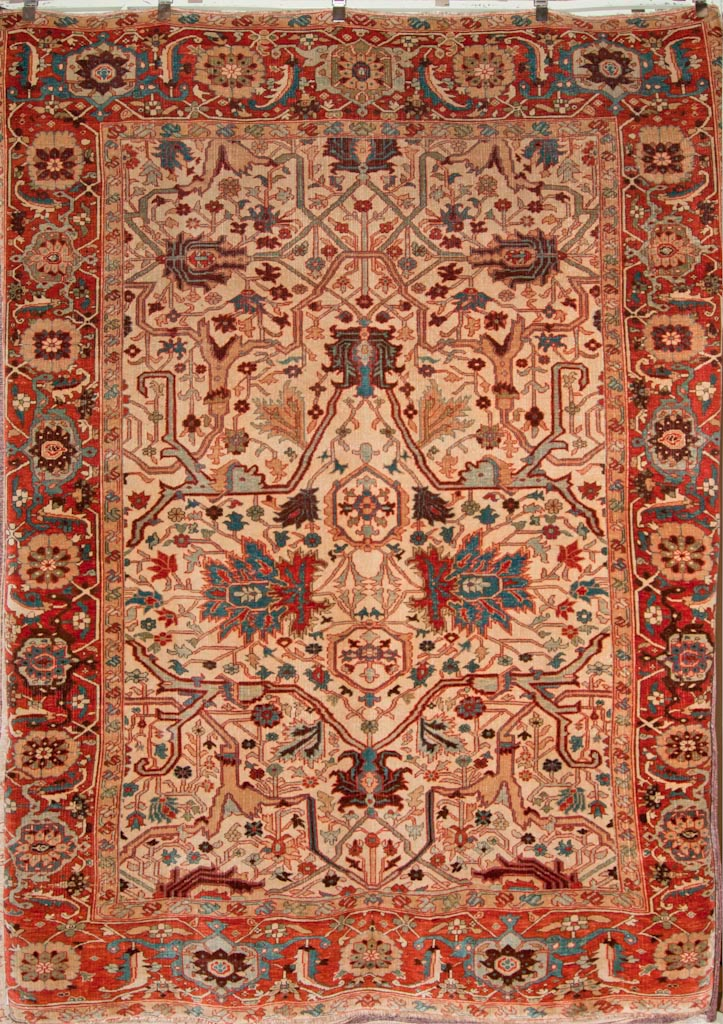 Fine All Over Serapi Rug
