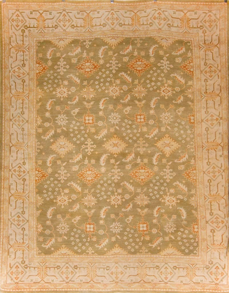 Antiqued Usak Rug