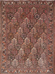 Semi Antique Bakhtiari Rug