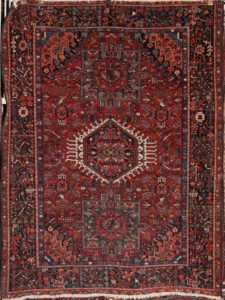 Antique Gharajeh Persian Rug