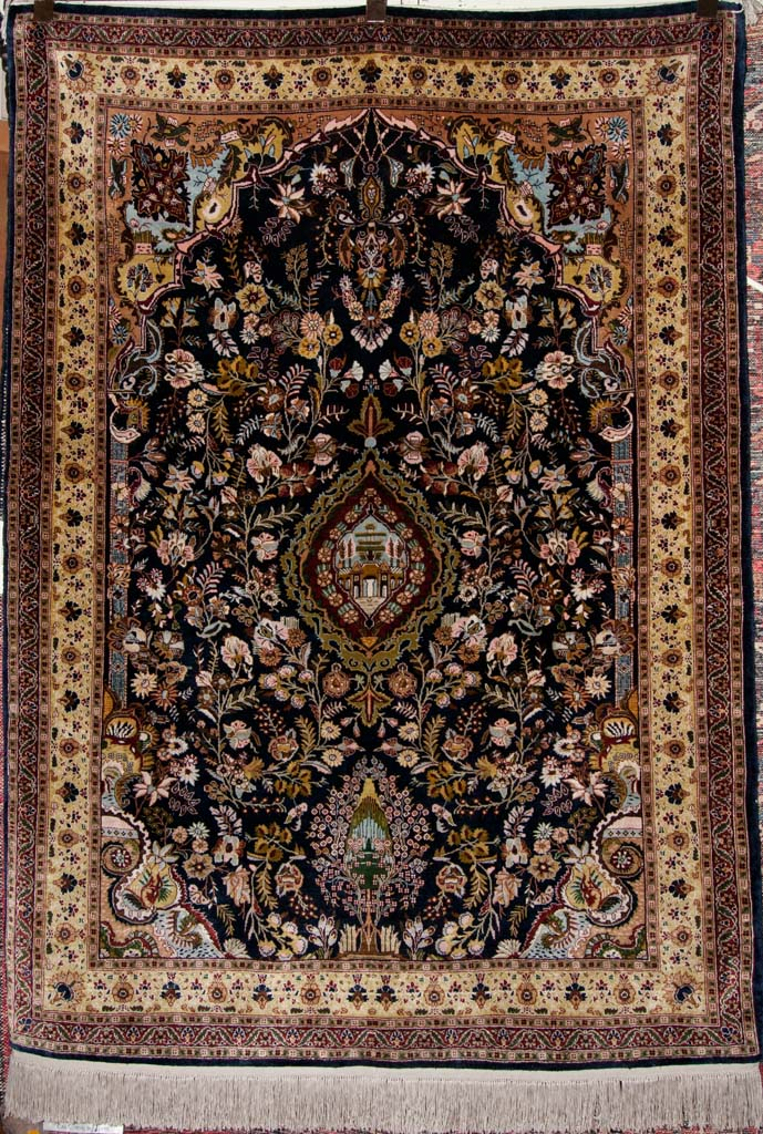 Finest Silk Hereke Rug