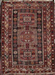Antique Kuba Konagend Caucasian Rug