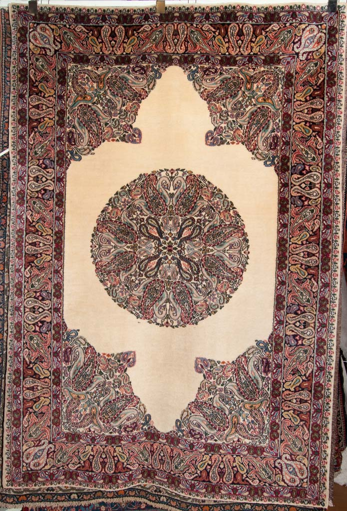 Semi Antique Mood Persian Rug