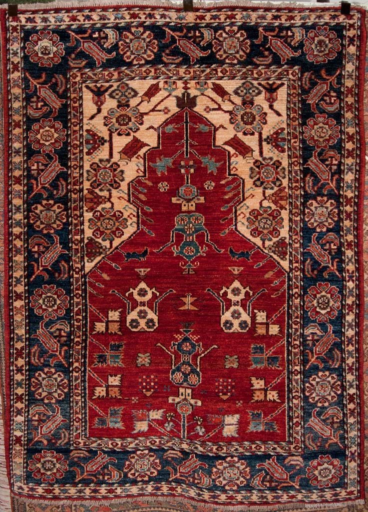 Finest Kazak Prayer Rug