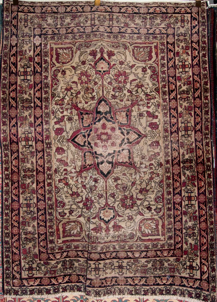 Antique Kermanshah Rug Persian Rug