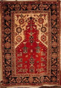 Fine Meditation Prayer Rug