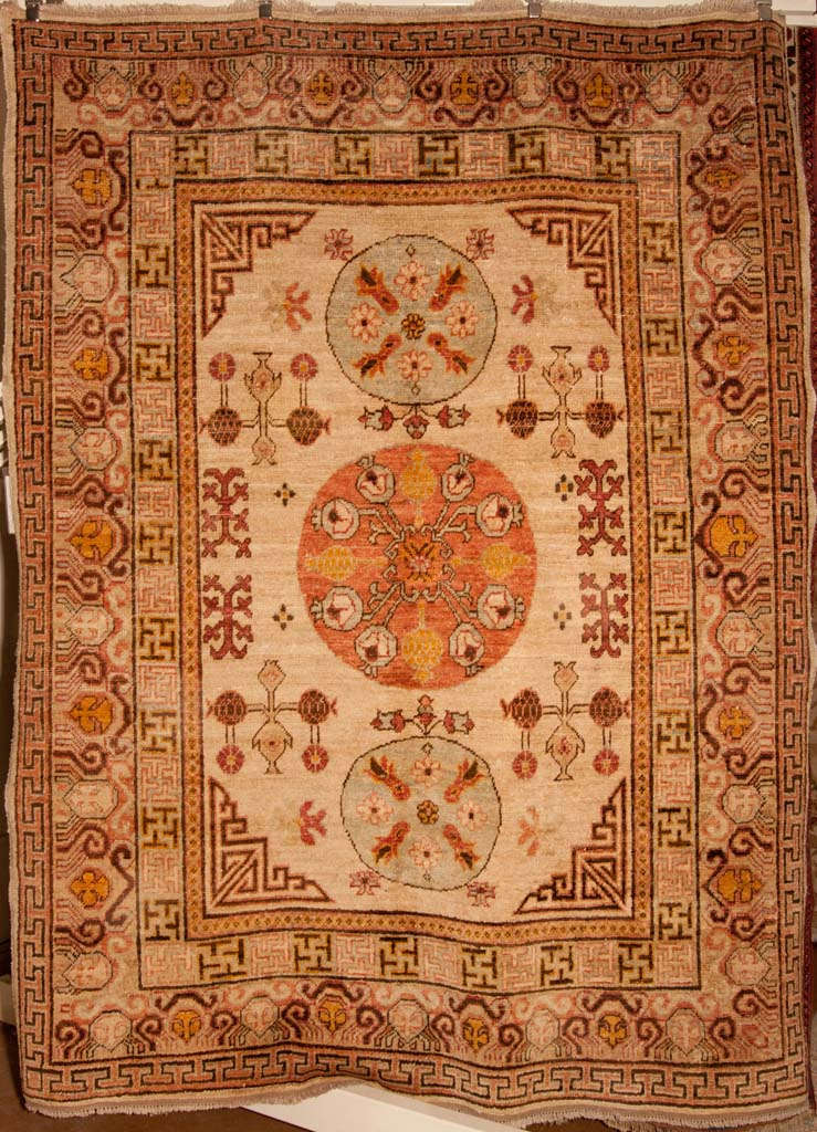 Antiqued Khotan Rug