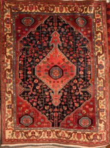 Antique Bakhshayesh Persian Rug