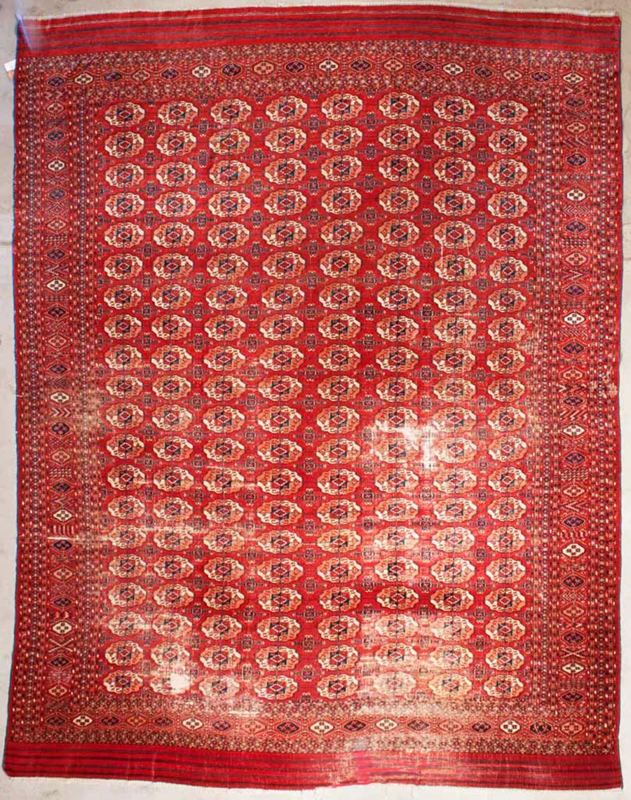 Antique Tekke Main Carpet | Rugs and More | Santa Barbara Design Center 43351 1