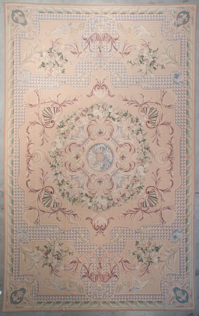 Finest Antiqued Aubusson