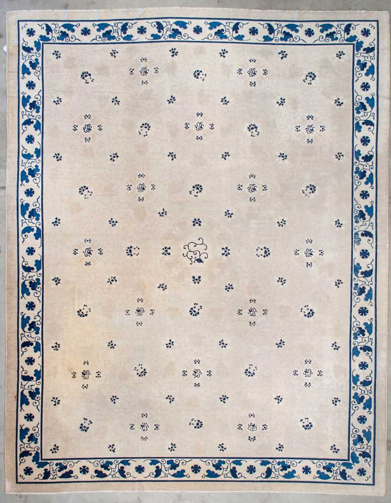 Antique-Chinese-Peking-Rug