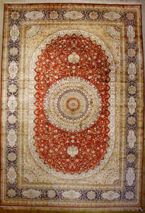 Finest Silk Tabriz Rug | Rugs and More | Santa Barbara Design Center
