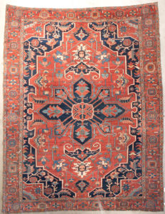 Antique Persian Serapi Rug | Rugs & More | Santa Barbara Design Center