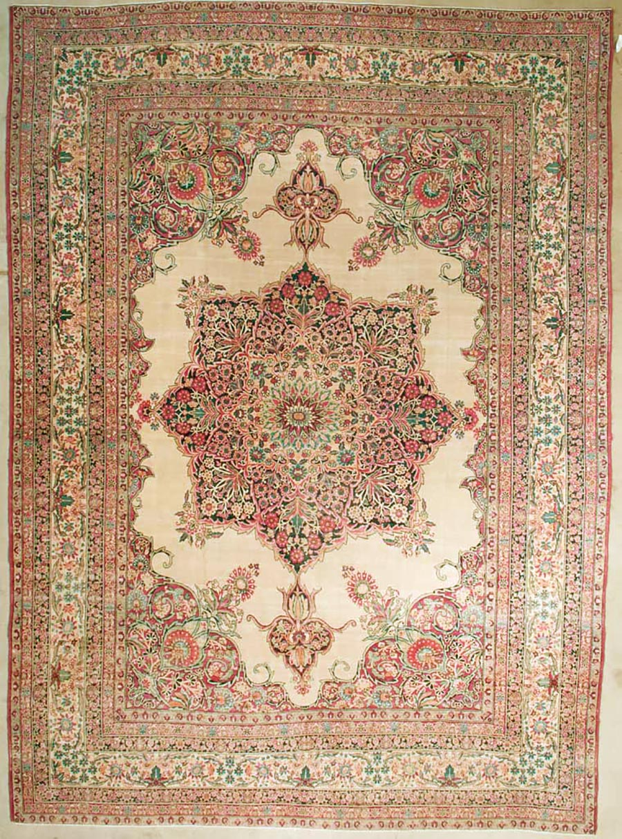 Fine Antique Kerman Rug | Rugs & More | Santa Barbara Design Center
