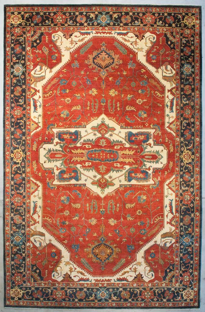 Fine Indian Serapi Rug