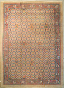 Antique Camel Hair Serapi Rug | Rugs and More | Santa Barbara Design