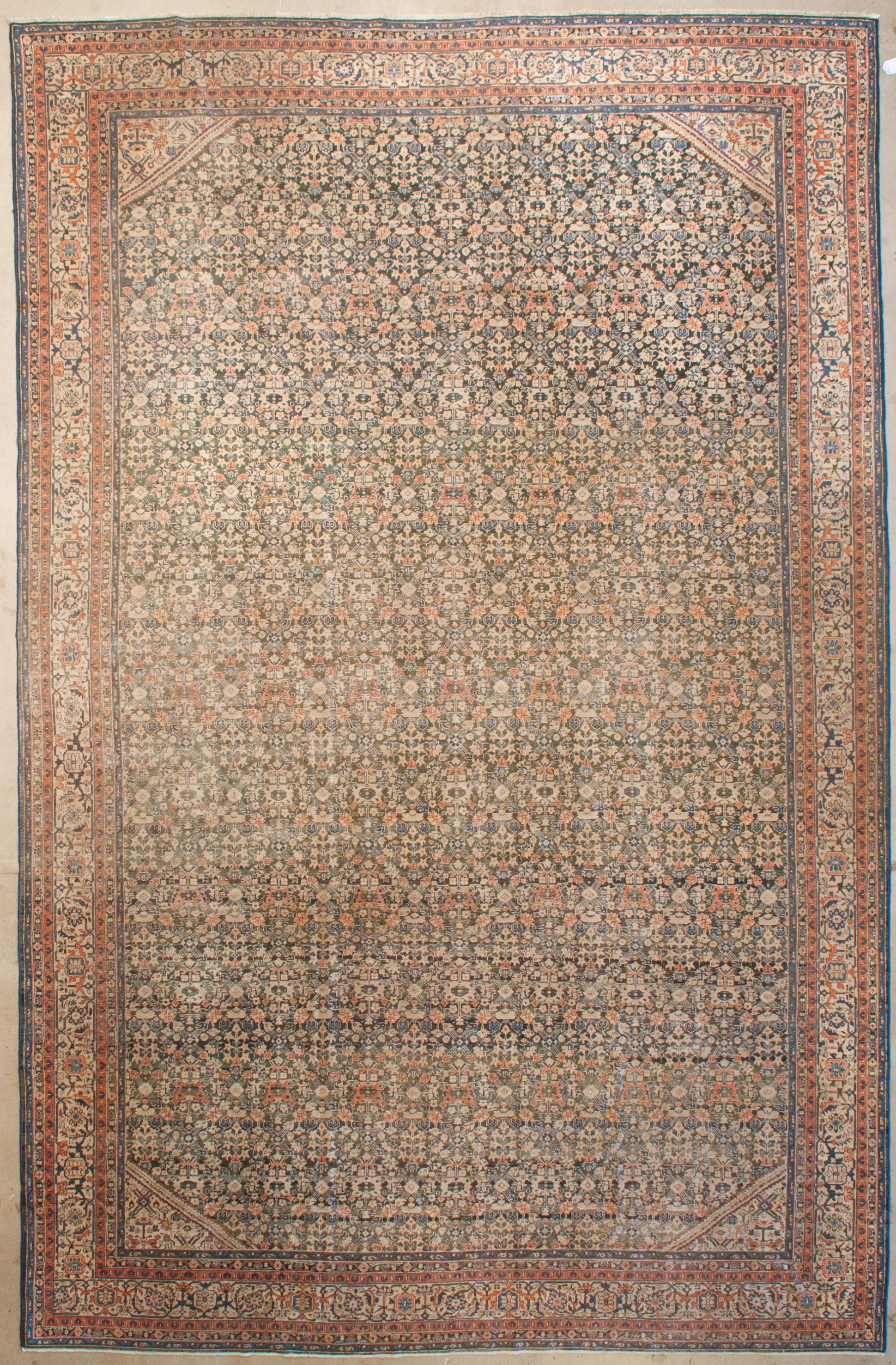 Finest Antique Sultanabad Rug | Rugs and More | Santa Barbara Design 1