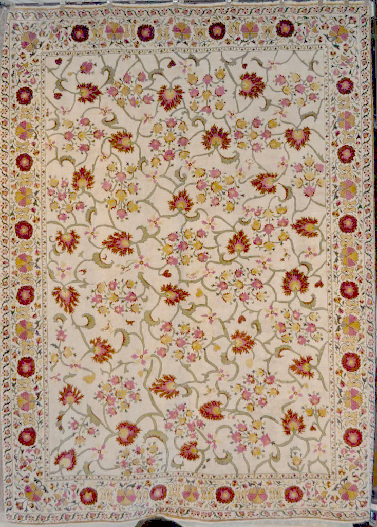Fine Silk Suzani Design Rug | Rugs and More | Oriental Carpets| Santa Barbara