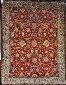 Finest Silk Mughal Rug Santa Barbara Design Center