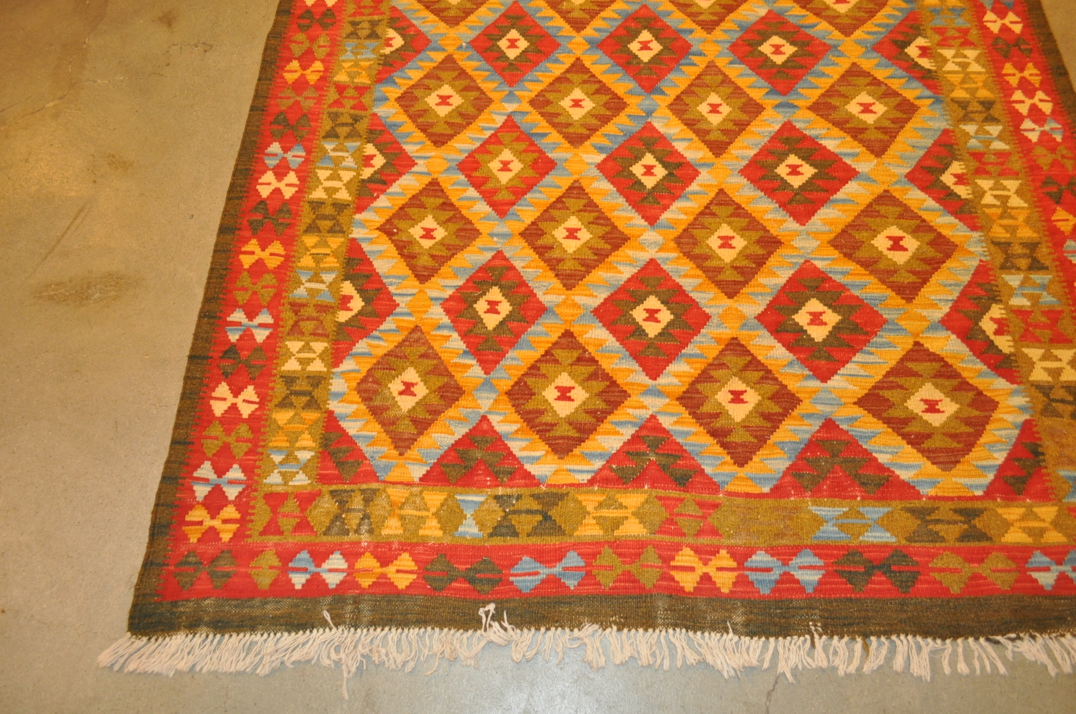 Kilims are Flatwoven Rugs