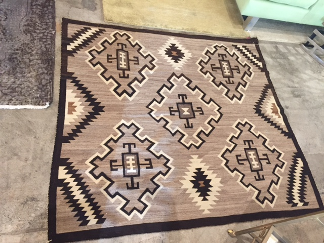 Two Grey Hill Phase Two Chief Blanket - Visit us at Rugs & More in the Santa Barbara Design Center.
