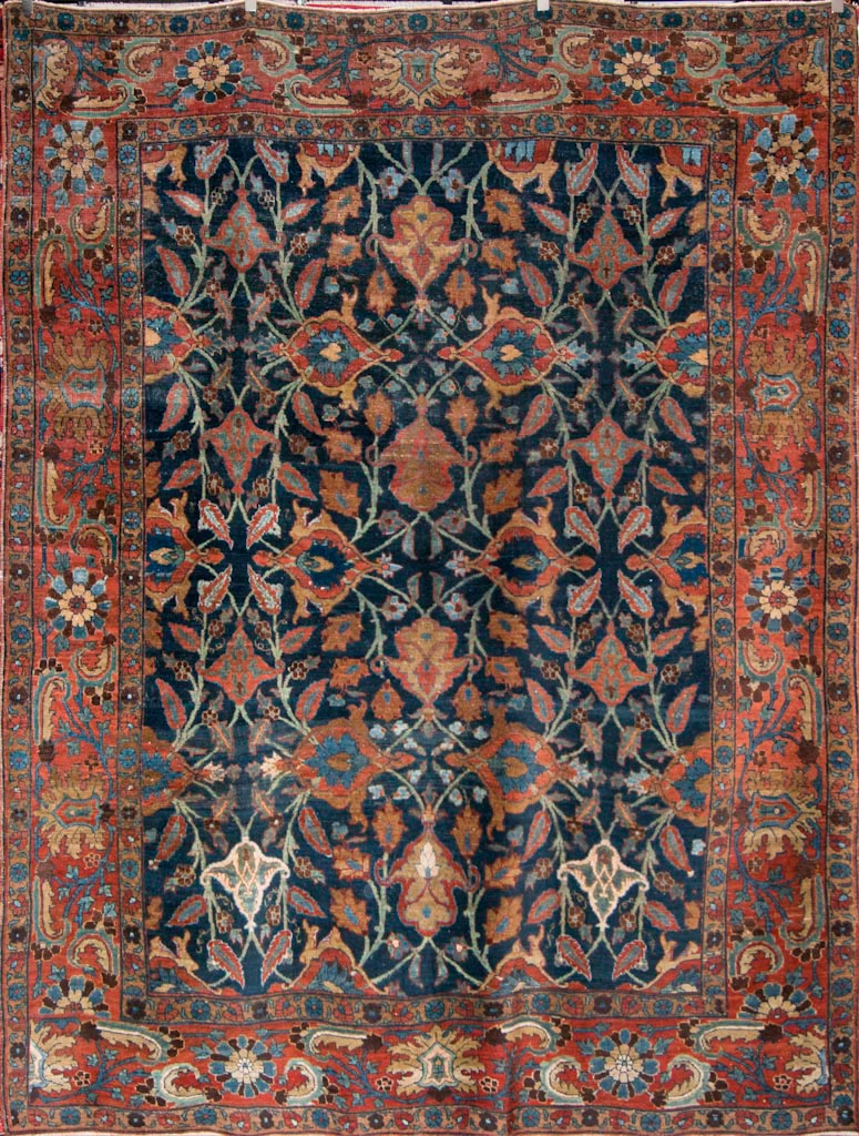 Bakshaish Carpets/Antique Bakhshayesh Heriz Rug