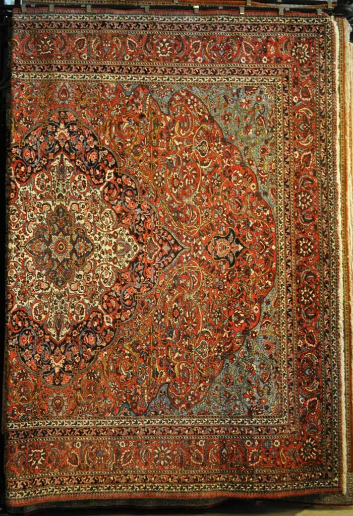 Antique Farahan Persian Rug