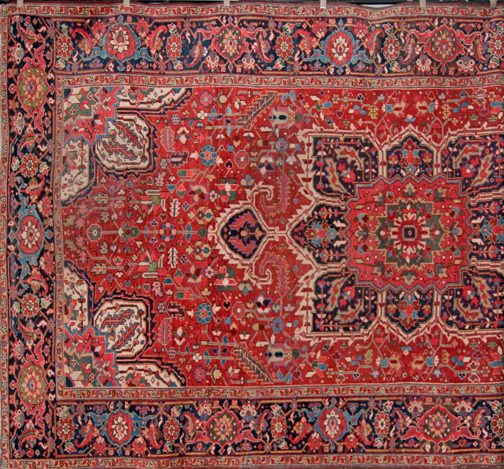 Antique Persian Heriz Carpets