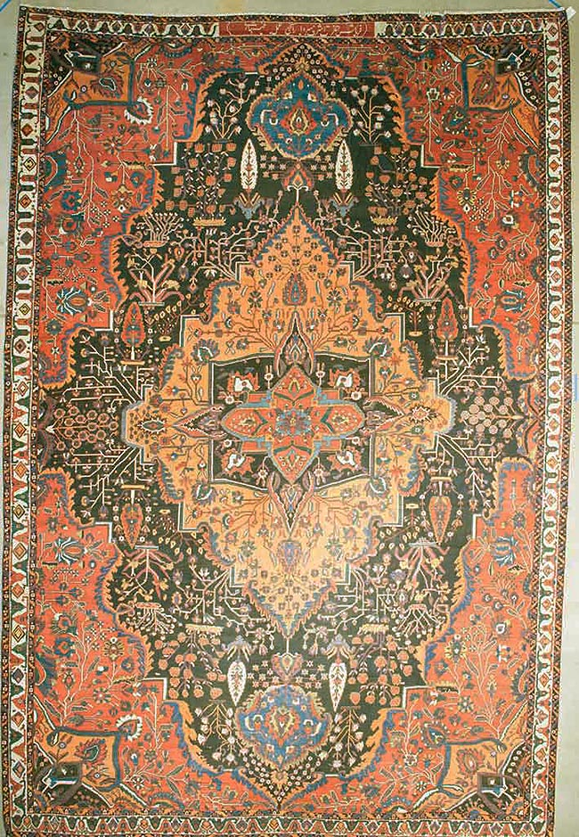 Extremely Rare Bakhtiari rugs and more oriental carpet 43702-